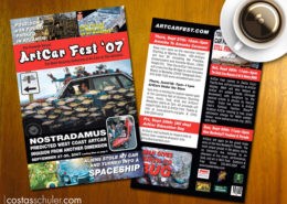 Artcar Fest 07 Flyer Design by Costas Schuler