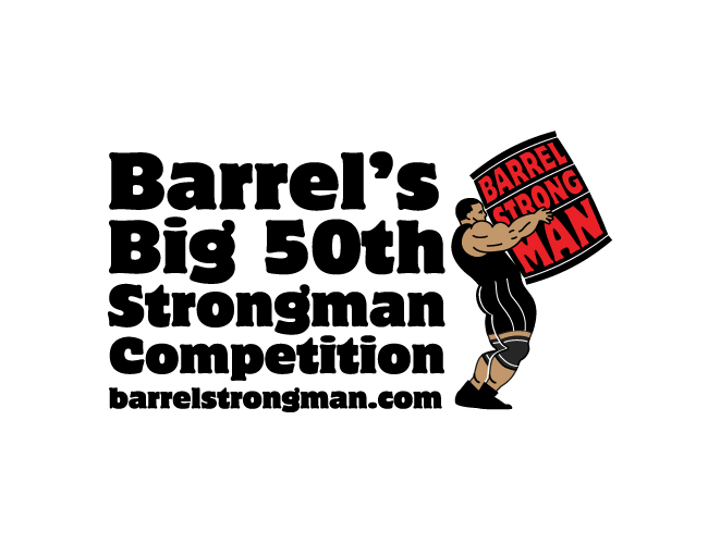 Strong Man Competition Logo Strongman competition heldStrong Man Logo