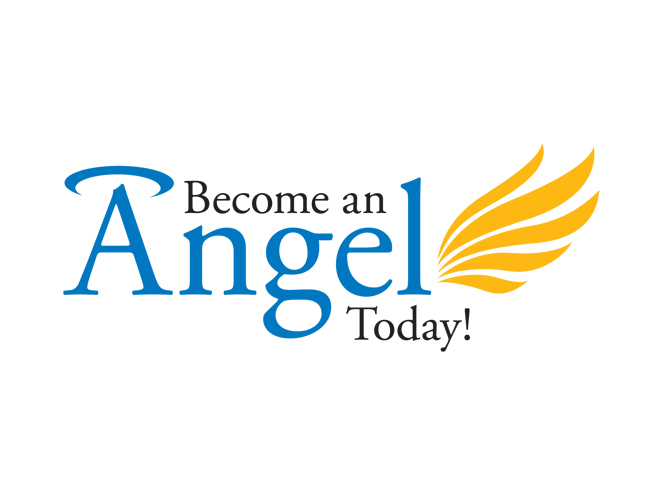 Logo design portfolio Angel logo design